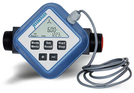 Medidor de turbina FM 120 I con opción de salida de impulsos