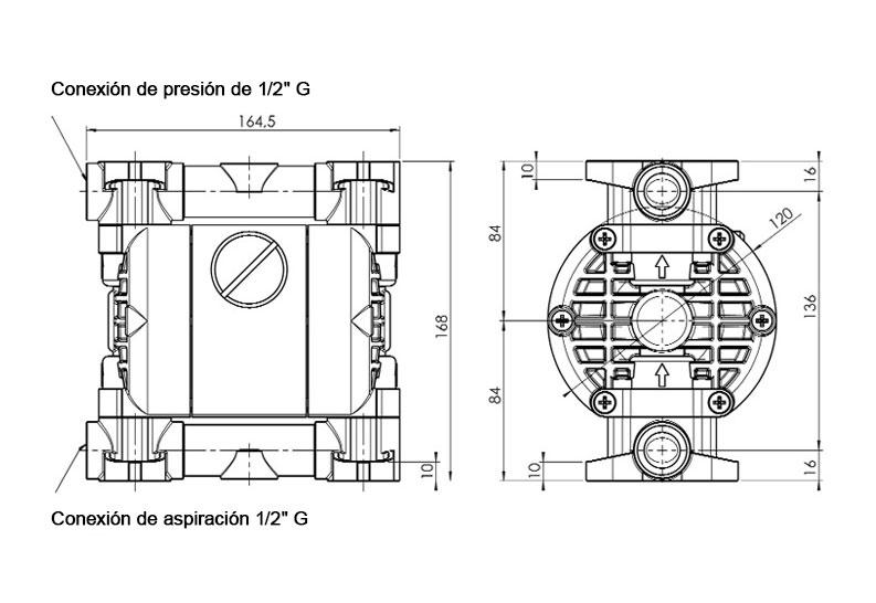 Dimensiones JP-800.30