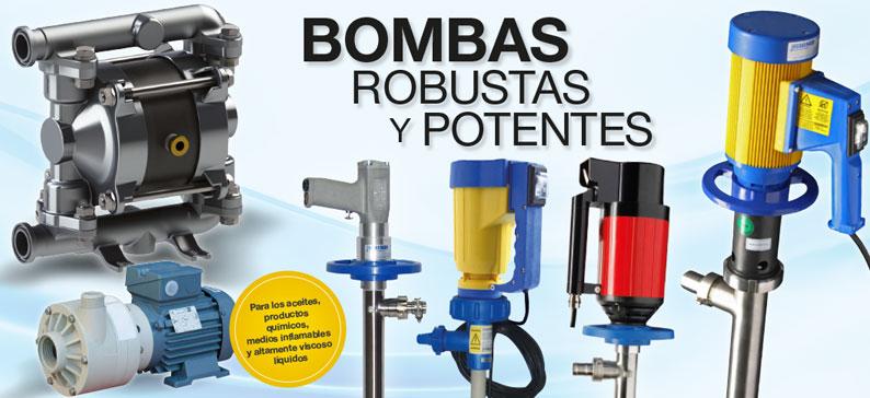 Bombas robustas y potentes