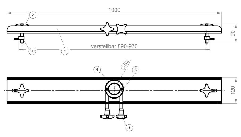 JP 700 dibujo tecnico 1000 l ibc